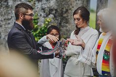 Are you planning a hand-fasting ceremony? Read our essential guide to hand-fasting rituals from what to do to where to get a hand-fasting cord. Pub Wedding, Irish Wedding, Wedding Vows, Destination Wedding, Wedding Venues, Wedding Planning, Handfasting, Wedding Ceremony Decorations, Traditional Wedding