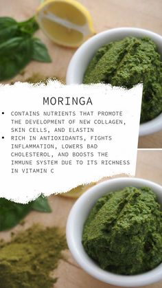 See the benefits of moringa, one of our ingredients for our Equilbrium Glo Superfood. Brain Healthy Foods, Brain Food, Moringa Benefits, Health Benefits, Health Tips, Health And Wellness, Turmeric Tea, Cold Home Remedies, Health Challenge