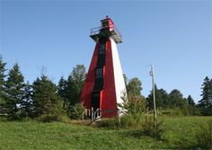 Haszard Point Range Rear Light, Kinlock, Prince Edward Island