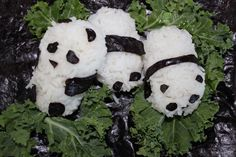 Creative Food Idea - Edible Vegan Pandas!