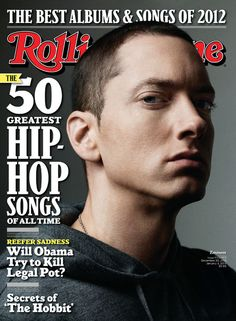 Eminem on one of four covers for our December 20, 2012-January 3, 2013 issue.