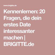 Kennenlernen: 20 Fragen, die dein erstes Date interessanter machen | BRIGITTE.de