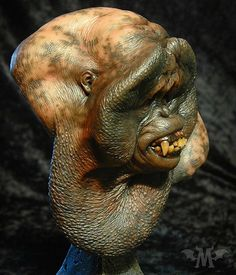 This titillating specimen can be yours! Link in profile.  #sexybeast #junglebook #thejunglebook #mightyjoeyoung #practicaleffects #traditionalsculpture #monsterclay #resinkits #paasche #rickbaker #orangutan #planetoftheapes