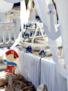 ΣΤΟΛΙΣΜΟΣ ΓΑΜΟΥ - ΒΑΠΤΙΣΗΣ :: Στολισμός Βάπτισης Θεσσαλονίκη και γύρω Νομούς :: ΣΤΟΛΙΣΜΟΣ ΒΑΠΤΙΣΗΣ ΓΙΑ ΑΓΟΡΙ - ΠΕΙΡΑΤΗΣ ΚΩΔ: PR-10 - ΘΕΜΑΤΙΚΗ ΒΑΠΤΙΣΗ