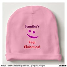 Cap off your baby's cute and swanky style with baby beanies from Zazzle! Search thousands of designs or get creative and design your own today! Best Baby Gifts, Personalized Baby Gifts, Babies First Christmas, Toddler Fashion, Baby Names, Gift Guide, Cute Babies, Kid Names, Funny Babies