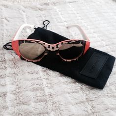 printed mirrored sunnies [nwot] Final Reduction!  NWOT. Never worn. Great Condition. No Hold. No Trades. Price is Firm. MINKPINK Accessories Sunglasses