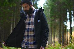 Hanon x Penfield Kasson Mountain Parka 'Stealth'
