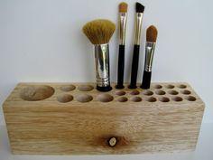 Natürliche rustikal Mahagoni Holz Schreibtisch-Organizer Office Organizer Stifthalter kleines Tool Caddy oder Makeup-Organizer - Gelato