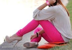 Pink pants!!