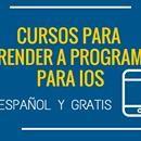 Varios cursos gratuitos en español para programar para iPhone y iPad  Tener éxito programando apps para móviles no es algo sencillo, requiere tener conocimientos de programación, una buena idea, un buen diseño gráfico, una buena estrategia de marketing y una buena dosis de suerte, y todos esos ingredientes tienen que mezclarse en las cantidades justas en los momentos…