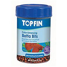 Top Fin® Betta Bits Color Enhancing Pellets Fish Food