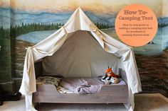 The ragged wren : How To- Camping Tent Bed
