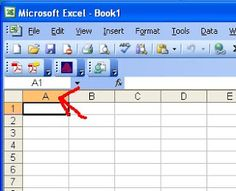 ChemKnits: How to Make a Knitting Chart in Excel (Part 1 - Setting up the Chart)