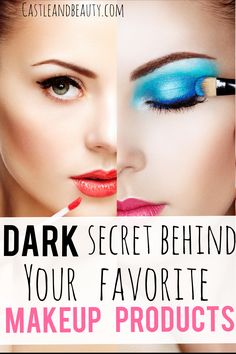 Find out the dark secret behind your must have makeup products whether it& lipstick, eye shadows or foundation. Make Up Tutorials, Jaclyn Hill Palette, Learn Makeup, Day Makeup, Best Makeup Brands, Scarecrow Makeup, Make Up Anleitung, Best Natural Makeup, Colorful Eye Makeup
