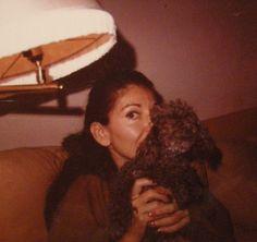 Maria Callas con Djedda, uno dei suoi quattro cani #VerdiMuseum