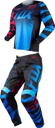 2015+Fox+Racing+180+Womens+Motocross+Dirtbike+MX+ATV+Jersey+Pant+Gear +Combo+ FoxRacing c6afd4ebe