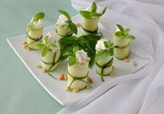 Stuffed Raw Zucchini Appetizers and much much more,,, Gluten free web site packed with ideas.