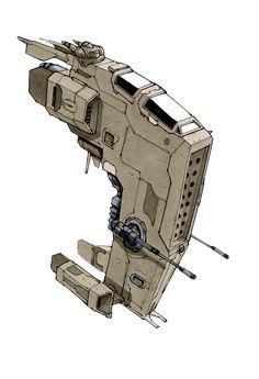 Blockade Buster by on DeviantArt - Car Tutorial and Ideas Space Ship Concept Art, Robot Concept Art, Concept Ships, Nave Star Wars, Star Wars Rpg, Star Wars Ships, Spaceship Art, Spaceship Design, Stargate