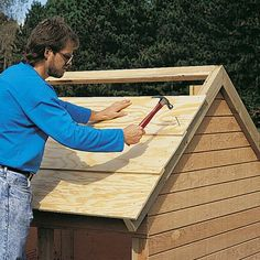 Do-It-Yourself Playhouse- shingles