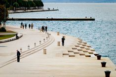 """Morske Orgulje"" (The Sea Organ) by Nikola Basic. Located on the shores of Zadar, Croatia, is the world's first pipe organ which plays music by way of sea waves"