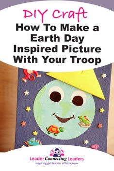 Learn how to make an Earth Day inspired picture. This is a great craft that can be done as group then display on your wall.