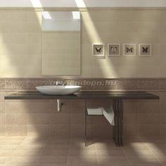 Dekorcsempe, Del Conca, Lipiza F VS52 20*40 cm I.o. - Otthon Depo Webáruház