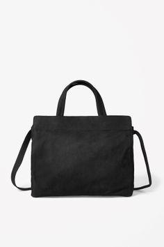 nubuck leather bag COS