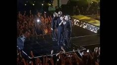 Robbie Williams reunites on-stage with Take That for the first time in six years  Robbie Williams' special moment were none other than Take That who sent the audience into a spin when they joined the former member on-stage. Robbie 42 then gave a surprise performance with Take That's Gary Barlow Howard Donald and Mark Owen much to the audience's delight.