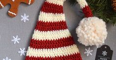 Pixie Elf Striped Newborn Hat Crochet Pattern DIY TUTORIAL in infant size but their is sizes up to adult for all of us!!!