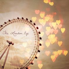 London Eye photo - In Love with London - Fine Art Photograph of the... ($24) ❤ liked on Polyvore