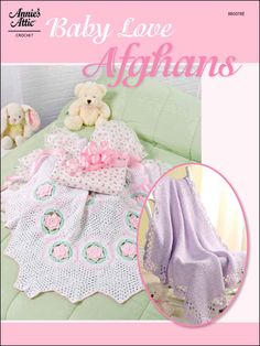 Baby Love Afghans - These 2 afghans for baby feature an exquisite love knot border on one and hexagon motifs on the other.  Skill Level: Intermediate  Each of these heirloom-quality beauties is made using sport weight yarn. Designed by Multiple  free pdf from freepatterns.com