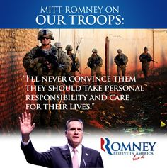 Mitt Romney on our Troops