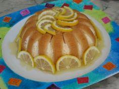 Charlotte au citron