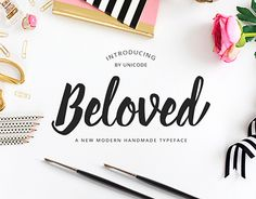 "Check out new work on my @Behance portfolio: ""Beloved Script handmade typeface"" http://on.be.net/1QfnnlT"