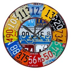 License Plate Clock Vintage Numbers Car Tag Art We provide you all shopping site and all informations in our go to store link. You will see low prices onShopping          License Plate Clock Vintage Numbers Car Tag Art today easy to Shops & Purchase Online - transferred directly secu...