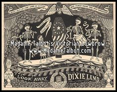 Madame Talbot's Abraham Lincoln's Ghost Train by VictorianLowbrow, $11.95
