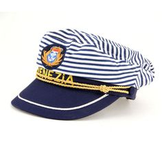a7dff55b #Adult #yacht boat ship #sailor captain costume hat cap navy marine admiral  hat