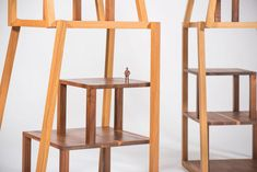 Made in Italy by Michele de Lucchi in 2008 Stained oak and walnut. Limited edition of 6