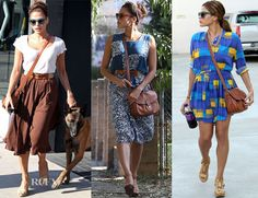 Eva Mendes Loves Her Ralph Lauren Collection Cartridge Bag