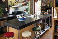 save money with laminant countertops rather than stone 180fx fossilstone (island would be wood top)