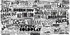 Most of these bands are cool (obviously not Coldplay)