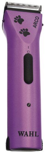Wahl 59156 Purple Arco with Paw Print Lid Wahl (O10/2016, Aca)