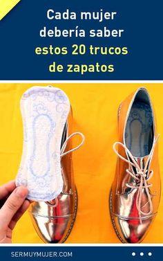 Cada mujer debería saber estos 20 trucos de zapatos ¡no te lo pierdas!