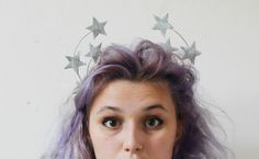 Now that's pretty: A Star Crown #Tutorial