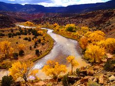 New Mexico centennial ( Christopher Reynolds / Los Angeles Times ) Chama River near Abiquiu, N. Photo taken New Mexico Style, New Mexico Homes, New Mexico Usa, Santa Fe, Travel New Mexico, Rio, Land Of Enchantment, Historical Sites, The Great Outdoors
