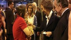 A dog abused and left to die in the streets gets an amazing second chance with the Queen of Spain!