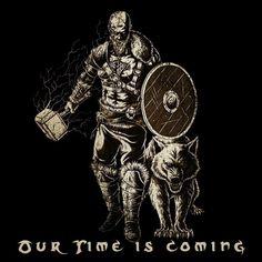 . . . . . . . . . . #odin #viking #thor #asatru #vikings #pagan #tattoos #art #warrior #paganism #axe #loki #odinism #norse #r #valhalla…