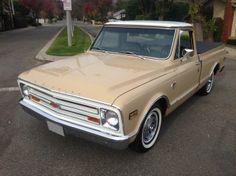 AutoTrader Classics - 1967 Chevrolet C10 Truck Tan 8 Cylinder Automatic 2 wheel drive | Classic Trucks | Orange, CA $32,500.00 for sale