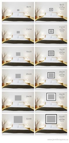 We get a ton of emails from clients asking what size art is most appropriate to hang above a bed. There's a lot of factors to consider – bed size, ceiling height, headboard height, if there's lighting above the bed, etc. Ultimately it boils down to personal preference and because I know it can be …