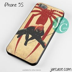 Spiderman in old Paper Phone case for iPhone 4/4s/5/5c/5s/6/6 plus